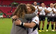 Coupe du monde de rugby : un joueur roumain fait sa demande en mariage à Wembley