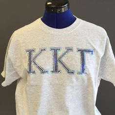 Kappa Kappa Gamma ladies can now sparkle and shine with their own customized look from All Stitched and Glitzed Out. #Sorority