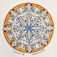 'Moment' Mandala 126 SA art Lize Beekman