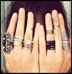 RING RING RING - Click image to find more Women's Fashion Pinterest pins