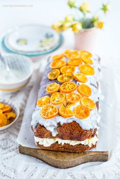 This orange, yoghurt and olive oil cake is delicious sliced and filled with yoghurt whipped cream and simply glazed.
