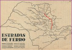 Mapa – Ramificações da Companhia Mogiana de Estrada de Ferro - Pesquisa Google