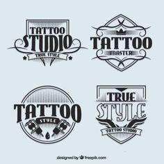 Logotipos estúdio de tatuagem no estilo . Tattoo Studio, Rasta Tattoo, Underground Tattoo, Letras Tattoo, True Tattoo, Tattoo Master, Shop Logo, Tattoo Shop, Shop Signs