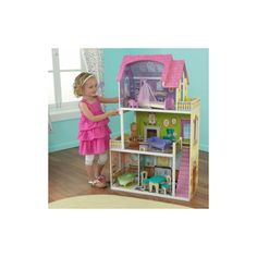 Duży domek dla lalek - Country Estate Dollhouse  #domek #domki #dzieci #zabawki #dollhouse #kids #playtime Magazine Rack, Country, Storage, Furniture, Home Decor, Purse Storage, Decoration Home, Rural Area, Room Decor