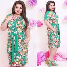 2015 midi verano vaina más tamaño vestidos para party mujeres florales de manga corta de algodón hasta la rodilla xl 3xl 4xl 5xl en Vestidos de Moda y Complementos Mujer en AliExpress.com | Alibaba Group