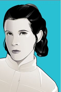 Princess Leia by Craig Drake