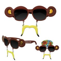 Monkey Sun-Stache - Monkey Sun-Stache.
