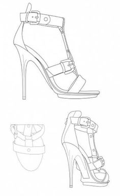 58 New Ideas for fashion shoes drawing art Fashion Figure Templates, Fashion Design Template, Fashion Design Sketches, Design Templates, Winter Fashion Boots, Fashion Shoes, Adidas Superstar, How To Draw Heels, Vince Camuto