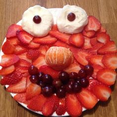 elmo out of fruit. b and b would love this!