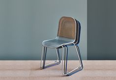 R18 Perforated Steel Chair in various colours by Rigmarole
