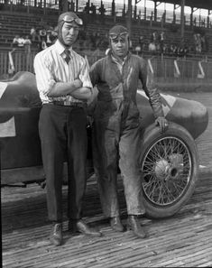 1922 Jimmy Murphy with riding mechanic at Tacoma Speedway