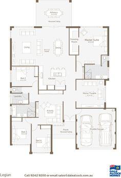 Legian Floorplan