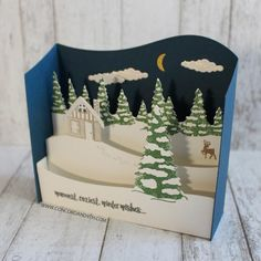 9 piece large die set that coordinates with christmas cottage stamp set the dies were - Best Interactive Christmas Cards