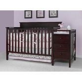 Found it at Wayfair - Lauren Crib and Changing Table in Classic Cherry