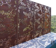 Metal Privacy Screen backyard privacy screens decorative metal outdoor privacy screens