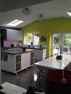 Luscious Lime Kitchen Paint