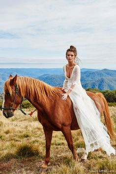 Grace Loves Lace Wedding Dresses — Untamed Romance Bridal Shoot | Wedding Inspirasi