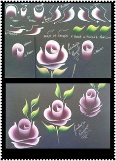 Trendy Flowers Art Painting Acrylic Donna Dewberry 16 Ideas Best Picture For nail One Stroke Painting, Tole Painting, Fabric Painting, Painting Flowers, Drawing Flowers, Art Floral, Donna Dewberry Painting, One Stroke Nails, Trendy Nail Art
