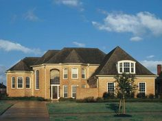 New American House Plan with 3863 Square Feet and 4 Bedrooms(s) from Dream Home Source | House Plan Code DHSW23127
