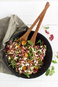 Roasted Potato, Endive, and Arugula Salad via Naturally Ella.