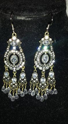 Elegant Tear Drop Earrings $10.00
