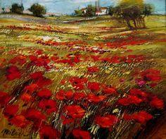 Michael Milkin, Anemones Field