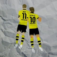 marco reus and mario gotze edit