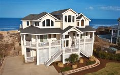 MACDADDY - 673 located In WHALEHEAD, COROLLA, NC Outer Banks Oceanside vacation rental with 10 bedrooms, 9.3 baths, Private Pool and Hottub.