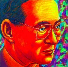 KING RAMA 9 (THAILAND) ::Acrylic on canvas