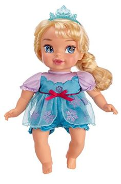 New Baby?  Big Sister Gifts for Girls:  Disney Princess Elsa from Frozen Delux Baby Doll Toy @ Amazon