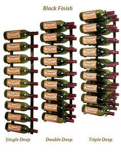 Vintage View | Vintage View 3 Ft Wall Mount Wine Racks | Metal Wine Racks