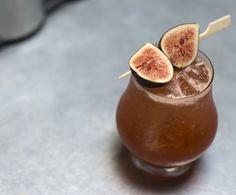 A refreshing fall cocktail recipe using seasonal figs