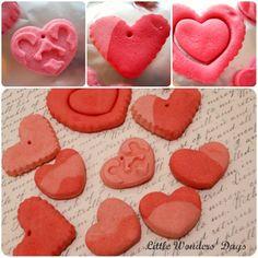 Easy Salt Dough Hearts