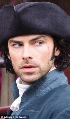 Aidan Turner as Ross Poldark — via The Daily Mail. Can't wait for the show to start! Poldark 2015, Demelza Poldark, Poldark Series, Ross Poldark, Bbc Poldark, Aiden Turner, Will Turner, Acteurs Poldark, Ross And Demelza