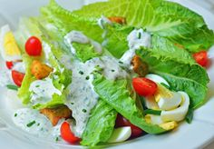 Buttermilk-Ranch-Dressing I used yogurt in place of sour cream and fresh dill! Delicious!