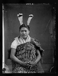 Young Maori woman - Collections Online - Museum of New Zealand Te Papa Tongarewa