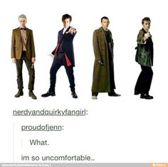 ...uncomfortable covers this well. ITS SO WRONG NINE TAKE THAT OFF TWELVE WHAT ARE YOU WEARING