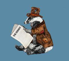 Creative Illustration, Sandra, Dieckmann, Cute, and Animals image ideas & inspiration on Designspiration Creative Illustration, Illustration Art, Sandra Dieckmann, Pom Pom Flowers, Ceramic Birds, Animal Masks, Animals Images, Badger, Illustrators