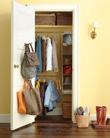 entry closet organization (also has my dream entry on page 6)
