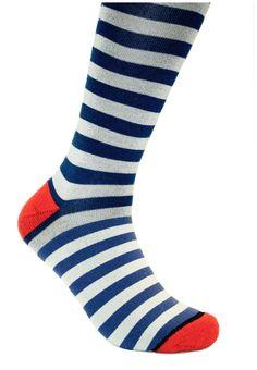 Performance Dress Socks | Pipeline Stripes | UnfetteredSocks.com