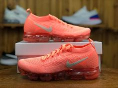 c1cd82a18e4c Nike Air VaporMax Flyknit 2. 0 Crimson Pulse Sail Coral Stardust 942843 800  Women s Running
