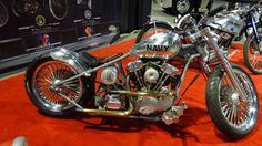 Navy tribute bike - Military Tribute Custom Motorcycles