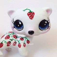 Littlest Pet Shop Ferret Toy  Custom OOAK LPS by RetroDollsUS