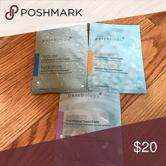 Patchology masks facial sheets bundle Exfoliate, hydrate, and aluminate flash mask facial sheets, never been opened. patchology Makeup