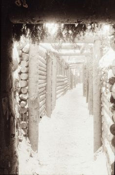 German Trenches In World War I