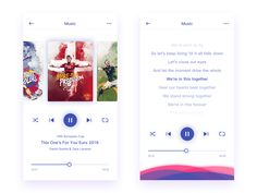 Music play design by Zhao Legs #Design Popular #Dribbble #shots