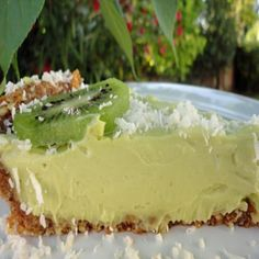 Key Lime Pie: you'll never believe it's vegan AND raw!
