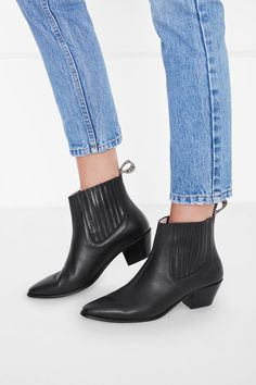 ANINE BING BING BOOT - BLACK. #aninebing #shoes #