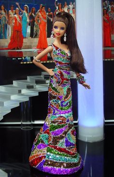 Miss Chile Barbie Dolls 2013
