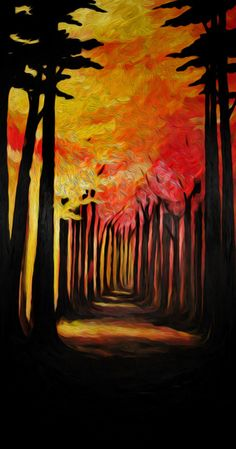 Autumn Light by Dale Keys